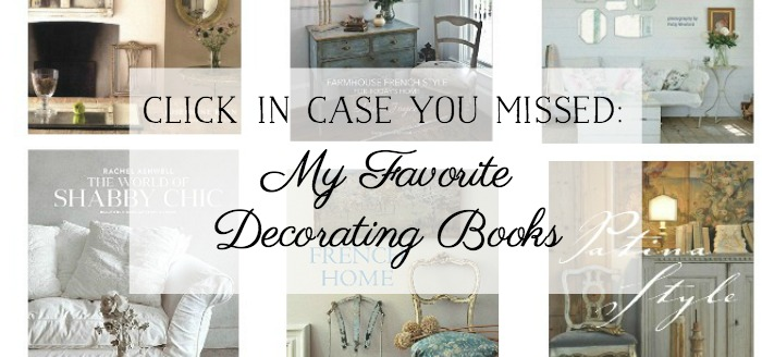 My Favorite Decorating Books