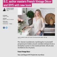 French Vintage Decor Book in The Province