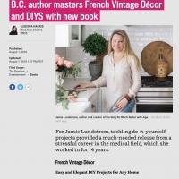 Livro de decoração vintage francesa na província