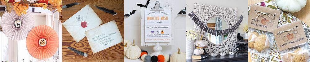 Halloween blogger poster.