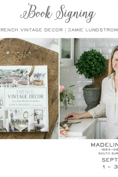 Home Style Saturday No. 105 + Book Signing at Madeline Bee