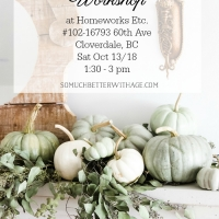 Register Now for My Heirloom Pumpkin Workshop