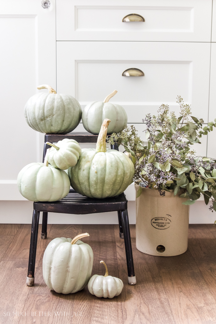 Heirloom Pumpkin Workshop/DIY painted pumpkins - So Much Better With Age