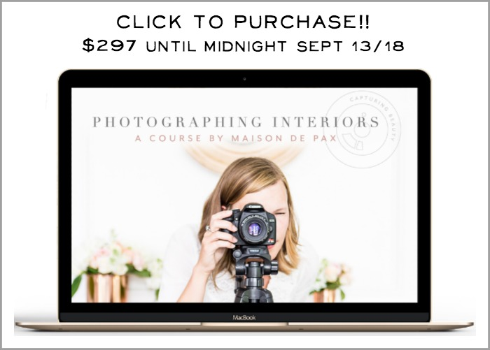 Click to purchase Photographing Interiors