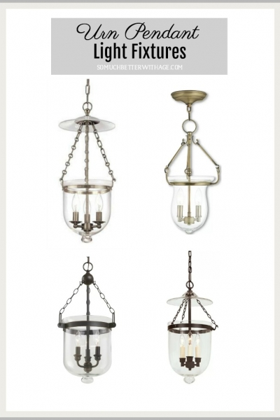 Urn Pendant Light Fixtures