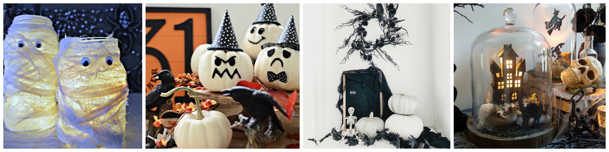 Ghosts and pumpkins pictured.