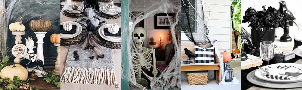 Spooky table settings.