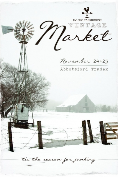 Book Signing & Booth at Olde Farmhouse Vintage Market