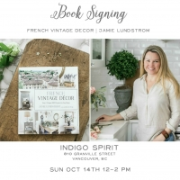 Home Style Saturday No. 106 + Book Signing at Indigo Book Store