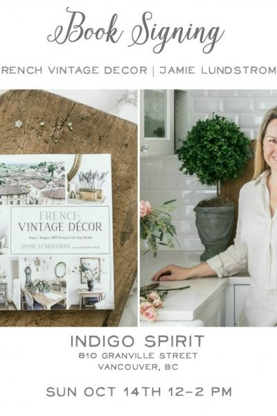 Home Style Saturday No. 106 + Book Signing at Indigo Book Store