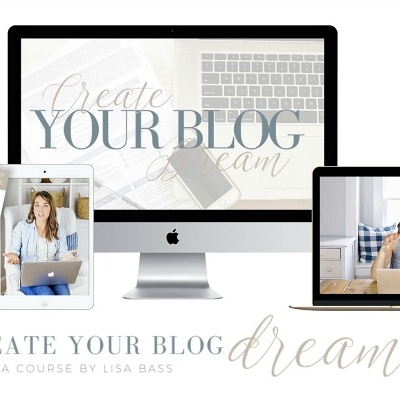 Home Style Saturday No. 107 + Create Your Blog Dream