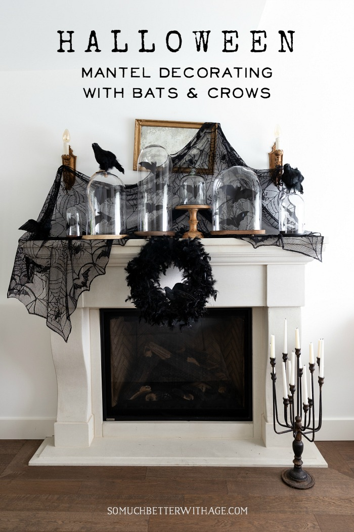 Halloween Decorating with Bats and Crows graphic - So Much Better With Age