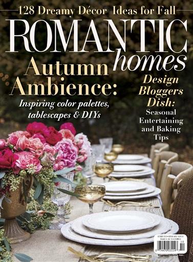 Romantic Homes Oct 2018 – Carrot Pie