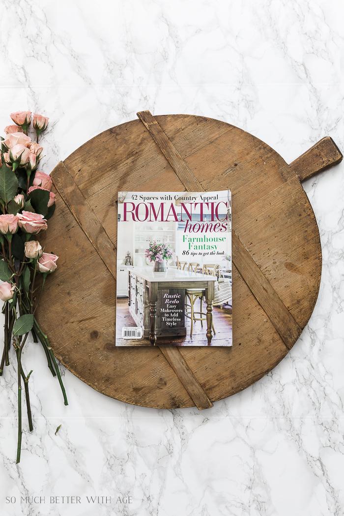 Romantic Homes magazine September 2018