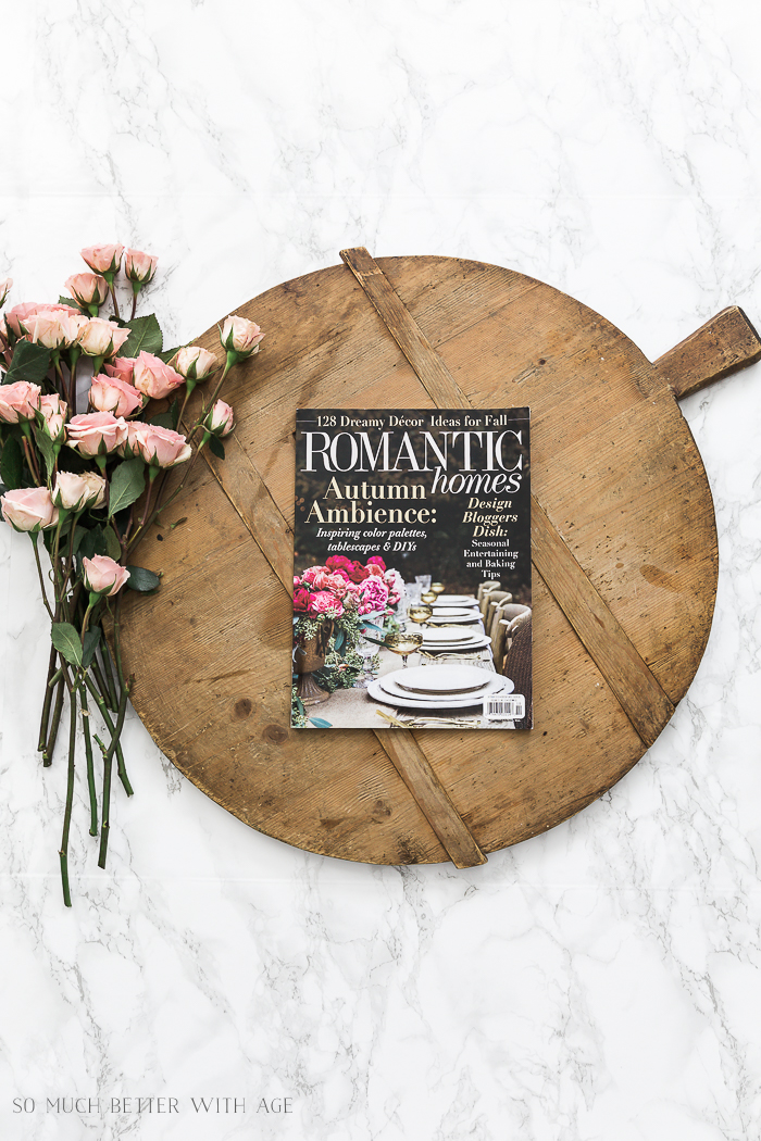 Romantic Homes magazine October 2018