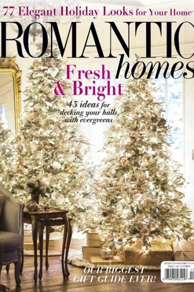Romantic Homes Dec 2018 – Christmas Tour