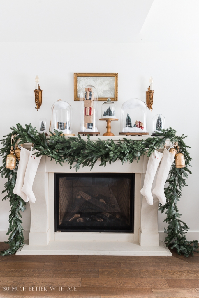 Old Fireplace Mantle