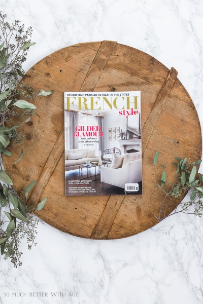 French Style and Romantic Homes Magazine Features