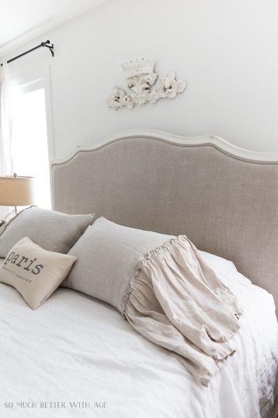 Review of 3 Linen Pillow Shams for the Master Bedroom