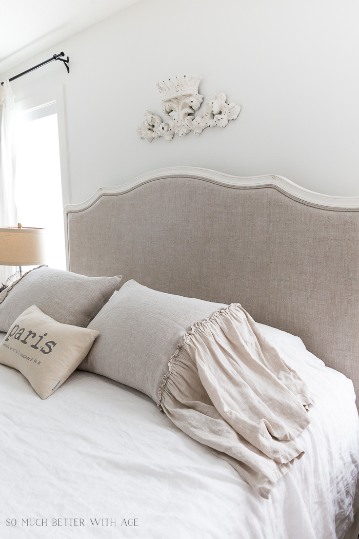 Review of 3 Linen Pillow Shams - Home Style Saturday