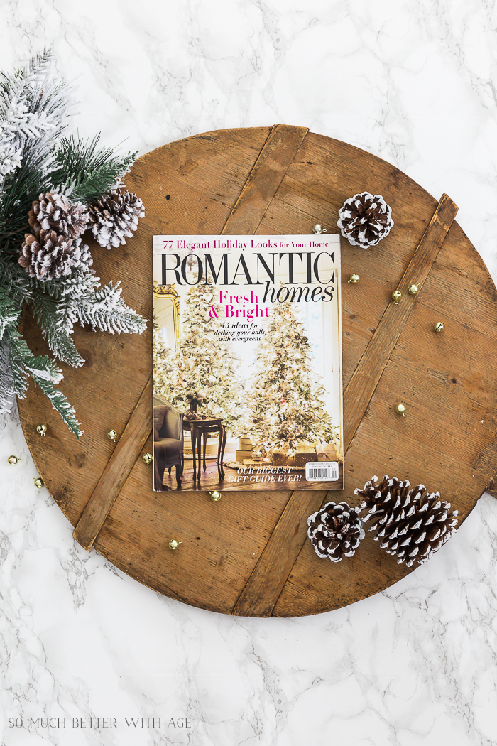 Featured in Romantic Homes magazine - So Much Better With Age