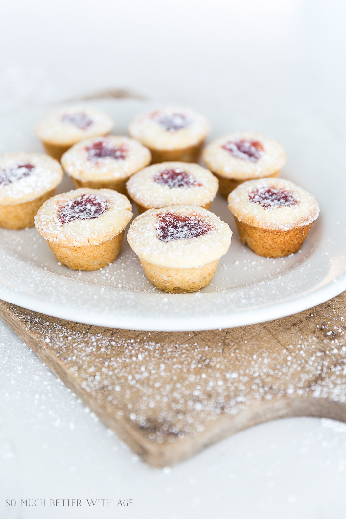 Thumbprint Cookies Using a Mini Muffin Tin/jam filled cookies - So Much Better With Age