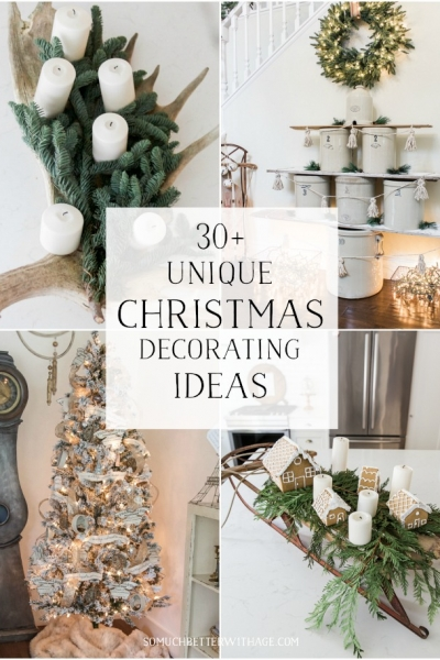 30+ Unique Christmas Decorating Ideas