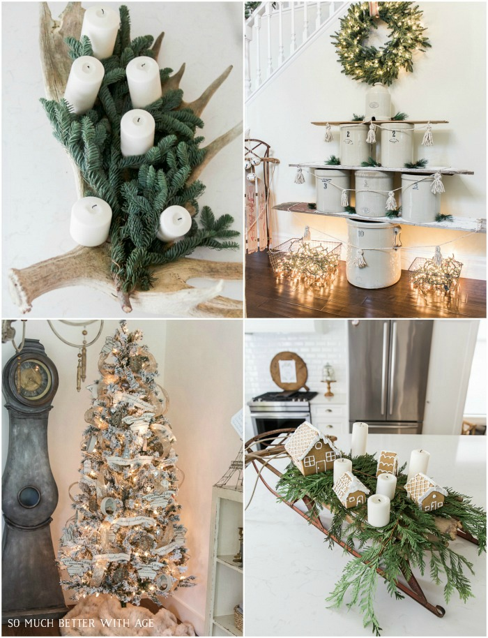 30+ Unique Christmas Decorating Ideas- So Much Better With Age