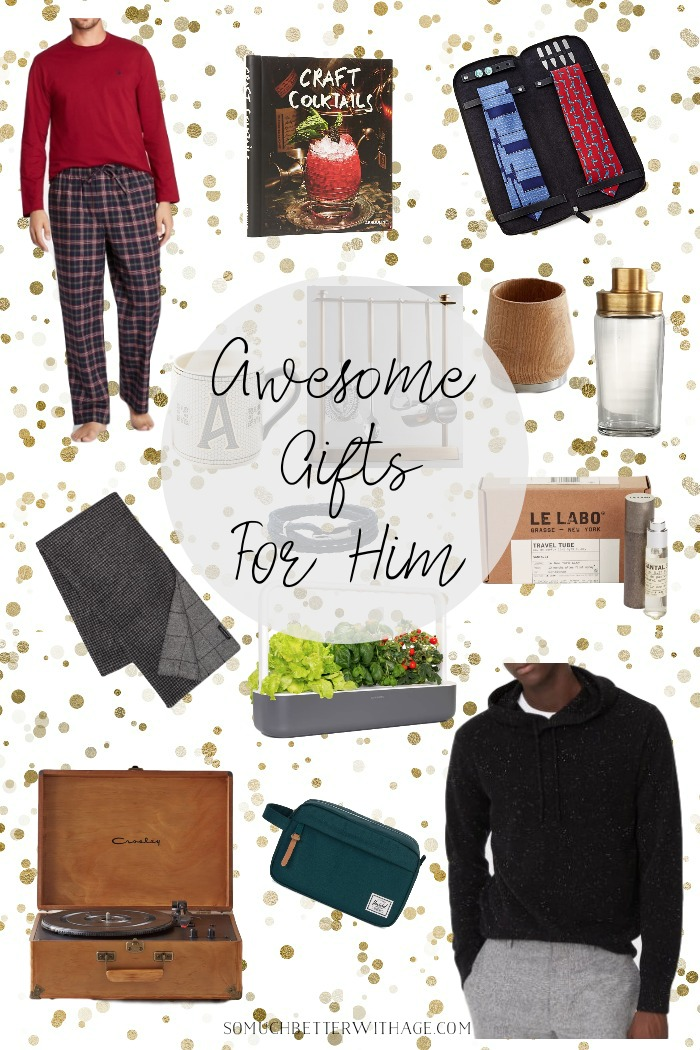 Awesome Gifts for Him this Christmas - So Much Better With Age