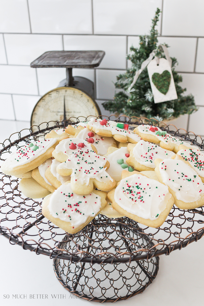Top 4 Christmas Baking Recipes/best sugar cookies recipe - So Much Better With Age