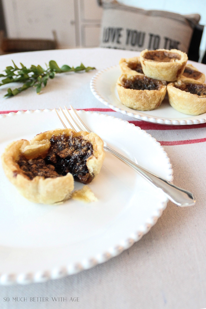 Top 4 Christmas Baking Recipes/best butter tart recipe - So Much Better With Age