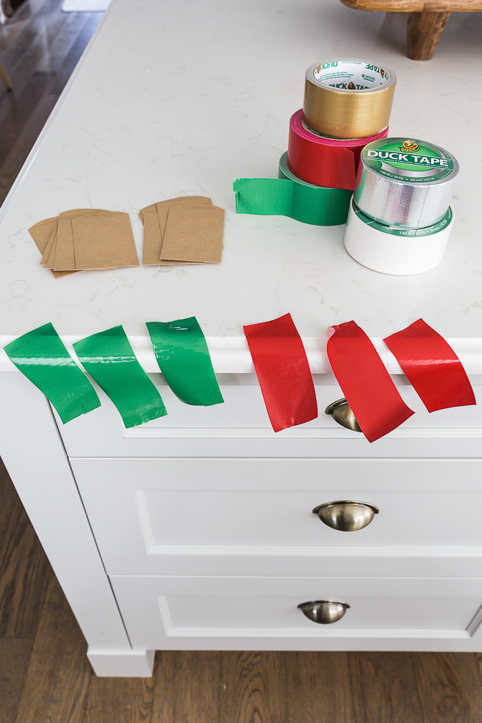 Creative Christmas Advent Calendar/Duck Tape - So Much Better With Age