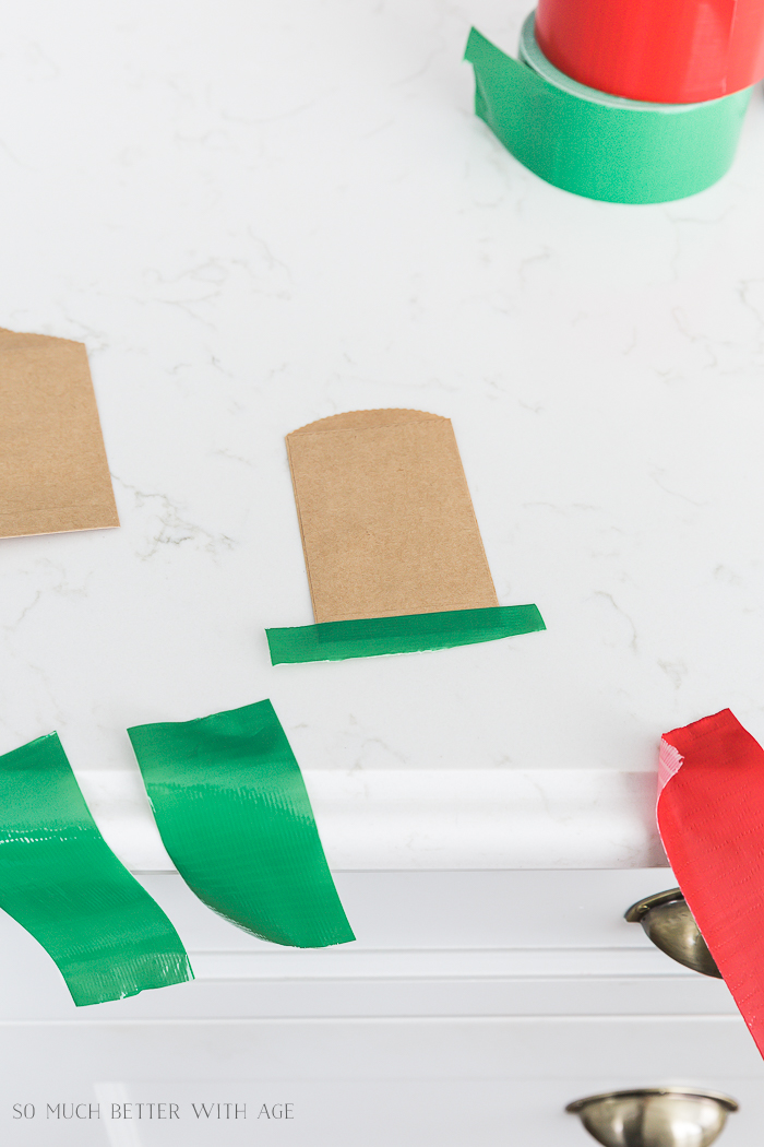 Creative Christmas Advent Calendar/kraft envelopes and Duck tape - So Much Better With Age