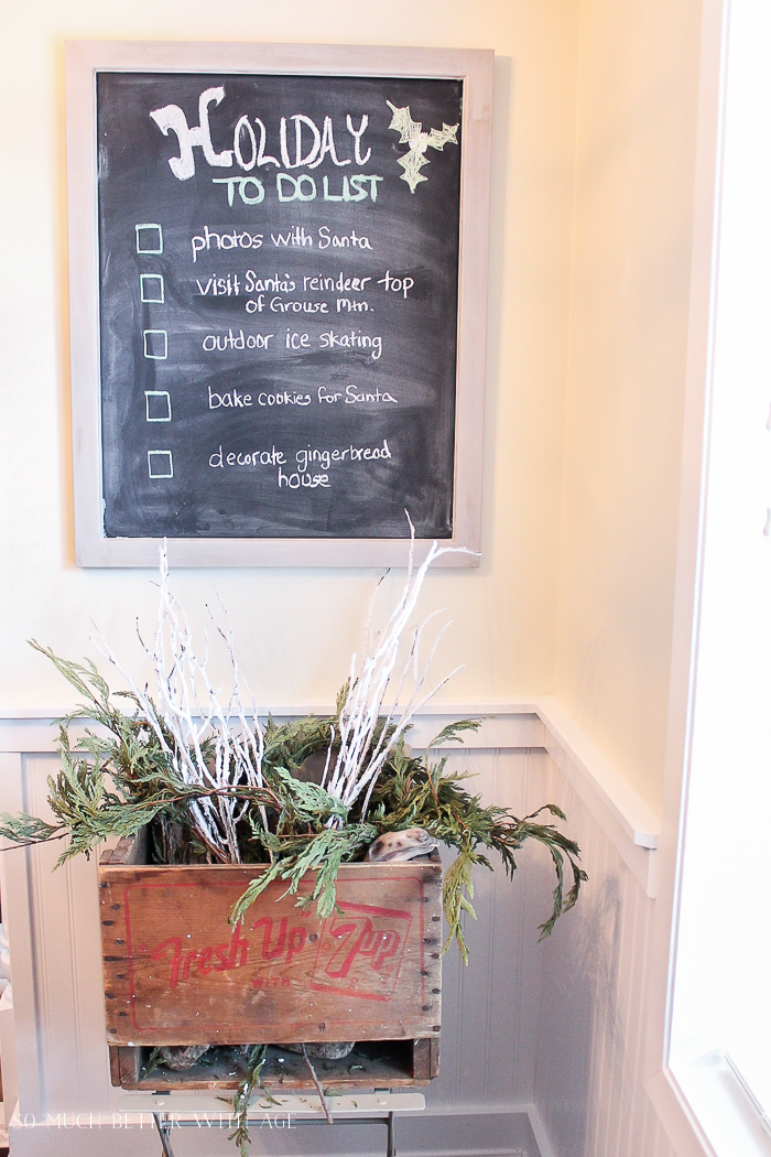 30+ Unique Christmas Decorating Ideas/holiday to do list- So Much Better With Age