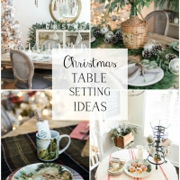 Beautiful Christmas Table Setting Ideas + Video