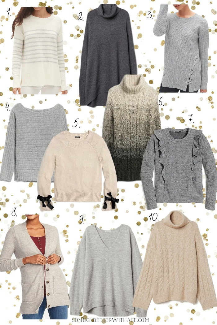 Gifts for Her - 20 Cozy Sweaters Under $50 - So Much Better With Age