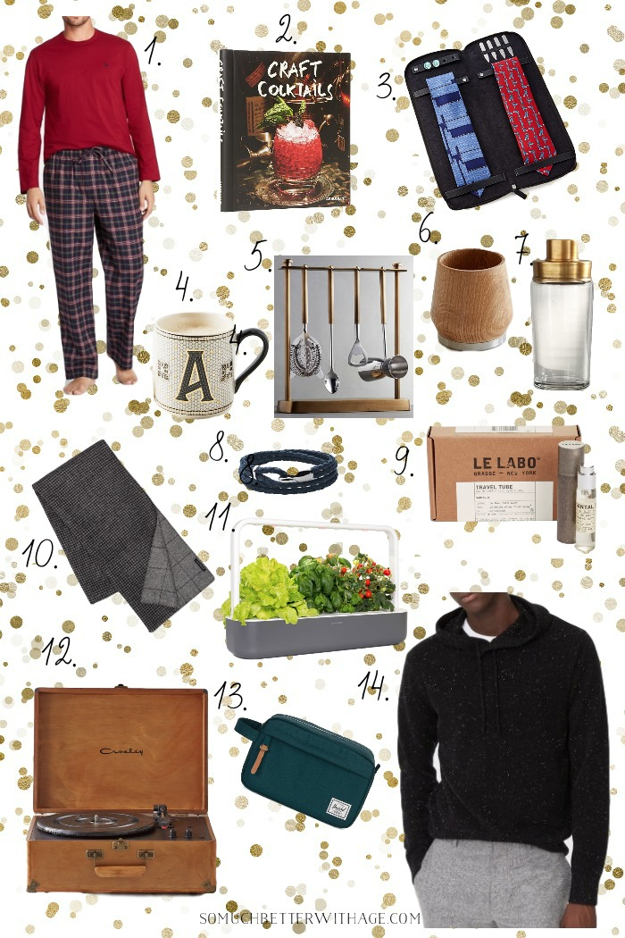 Gifts for Him Christmas Shopping Guide - So Much Better With Age