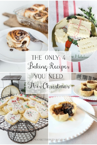 Top 4 Christmas Baking Recipes (The Only Ones You Need this Christmas)