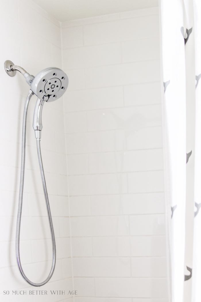 10 Design Tips for Kids Bathroom/spray nozzle shower head - So Much Better With Age