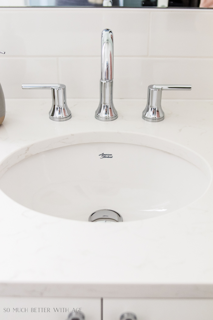 10 Design Tips for Kids Bathroom/bathroom sink - So Much Better With Age