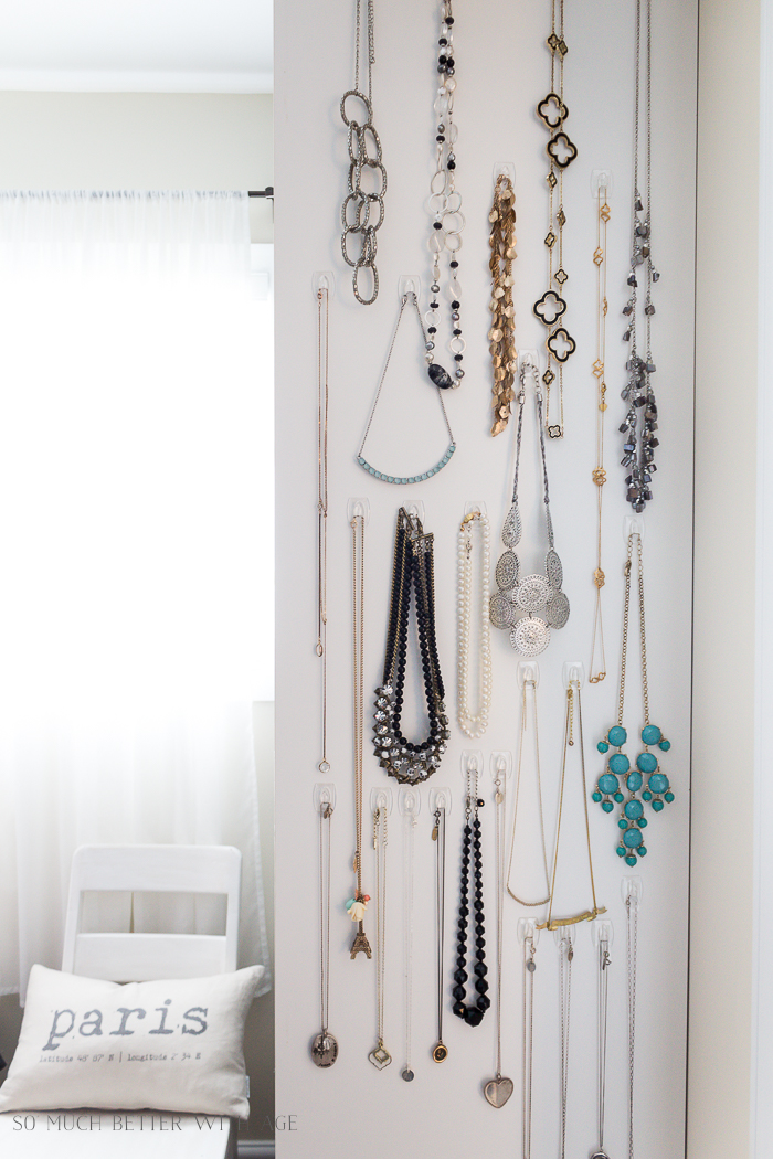 Easy Necklace Organization/ So Much Better With Age- Home Style Saturdays