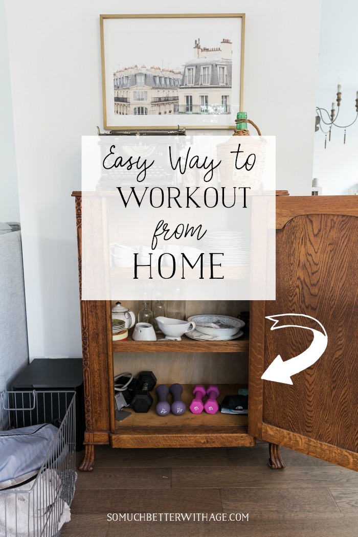 Easy Way to Workout From Home - So Much Better With Age