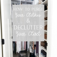 How to Declutter Your Closet (and Purge Your Clothes)