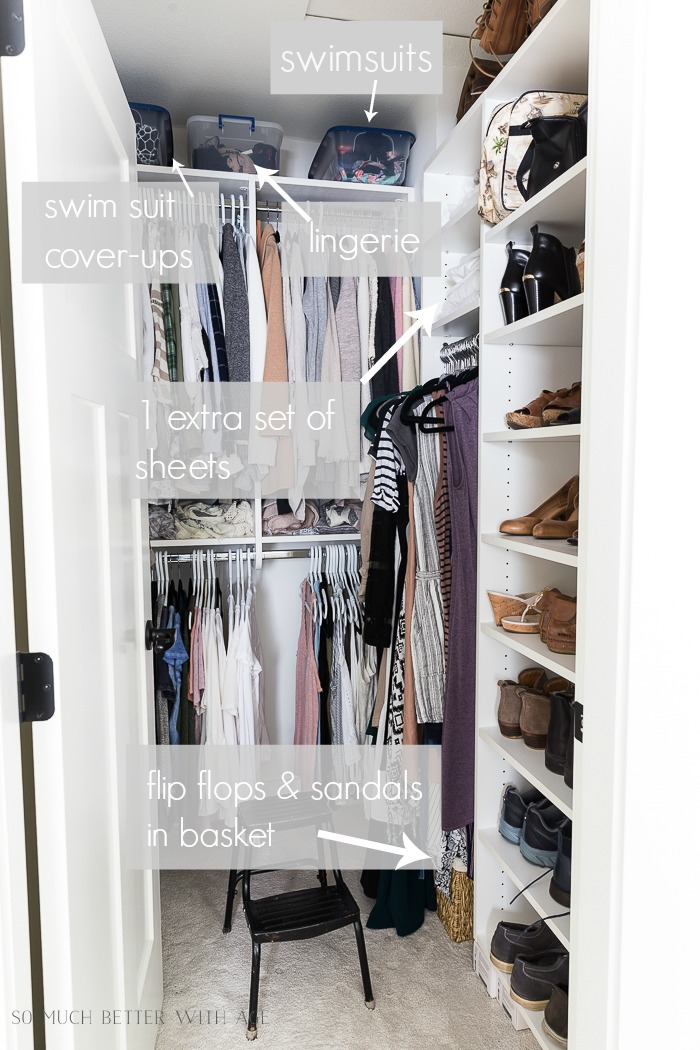 How to Declutter Your Closet and Purge Your Clothes/step by step closet organization - So Much Better With Age