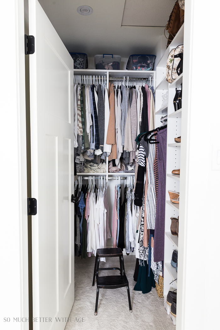 How to Declutter Your Closet and Purge Your Clothes - So Much Better With Age