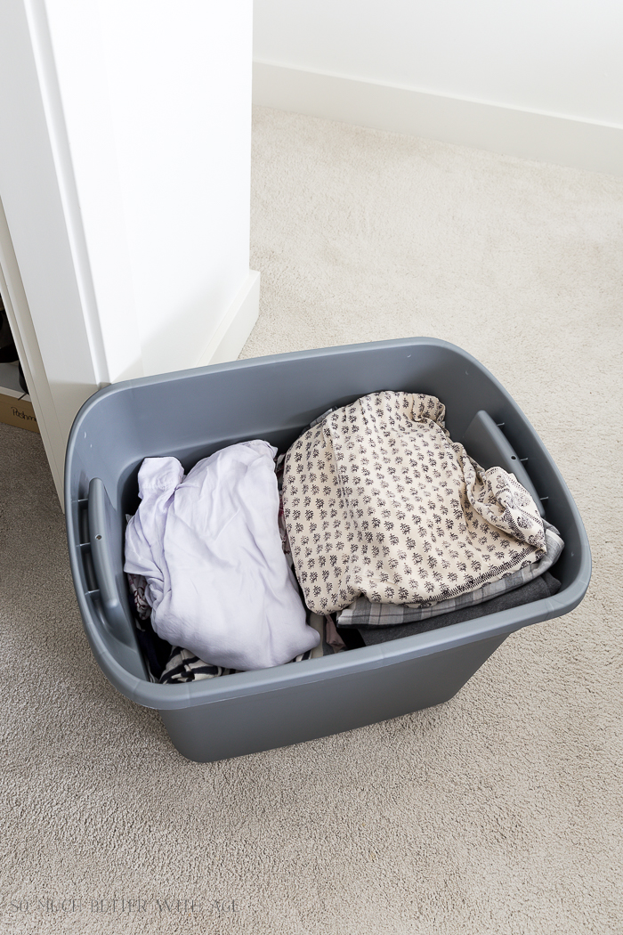 How to Declutter Your Closet and Purge Your Clothes/clothing bin - So Much Better With Age