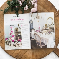 Romantic Homes – High Tea Party