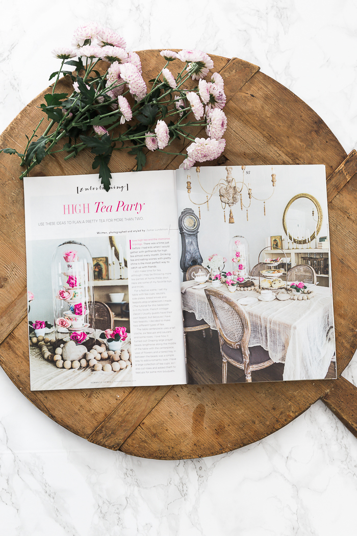 Romantic Homes Jan 2019 - High Tea Party