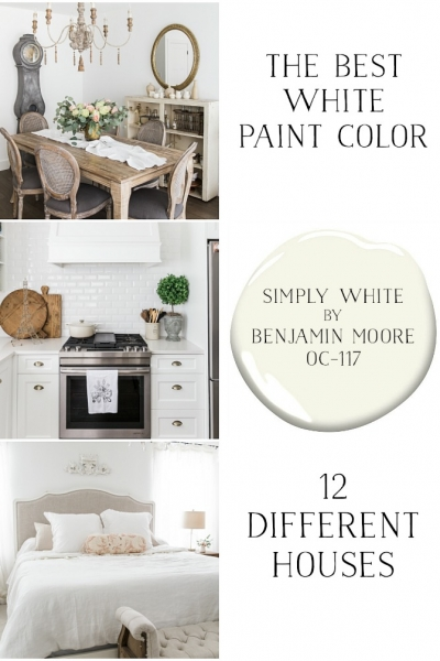 Simply White by Benjamin Moore – The Best White Paint Color