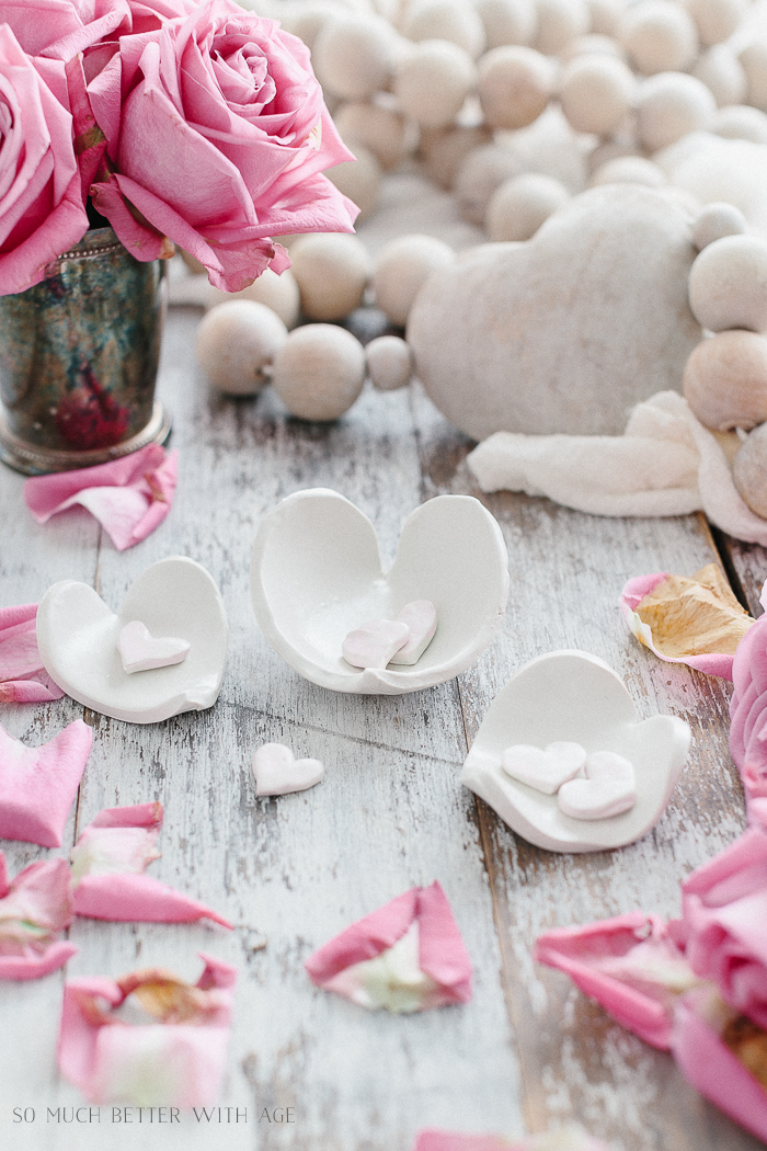 Clay Heart Dish for Valentine's Day - So Much Better With Age